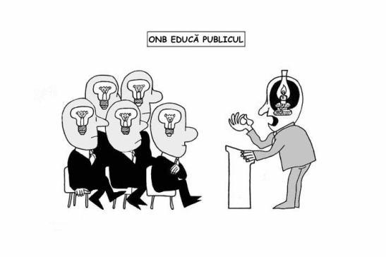 ONB ţine de Minister şi are menirea sfântă de a culturaliza contribuabilii