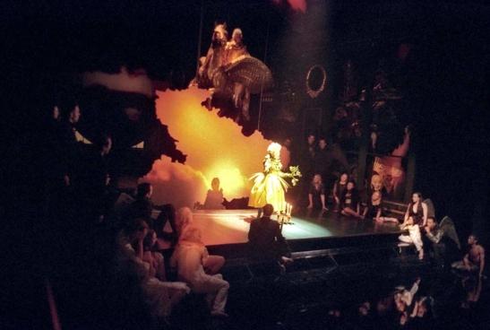 Producția lui Jonathan Kent pentru The Fairy Queen, la Glyndebourne, în 2009