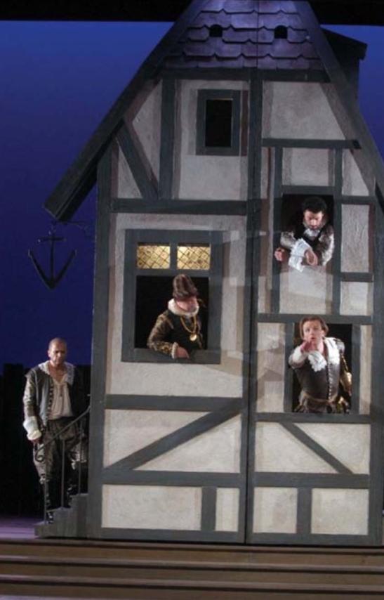 Beatrice et Benedict de Berlioz la Opera du Rhin - 2005