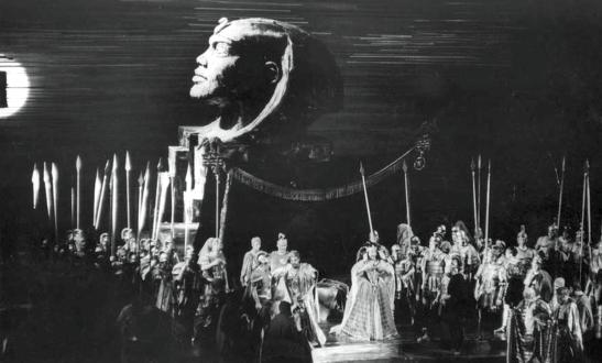 "Premiera operei ""Antony and Cleopatra"" de Barber la Met, în 1966"