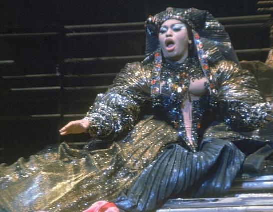 Leontyne Price în opera Antony and Cleopatra de Samuel Barber, Metropolitan Opera, 1966 (Foto: GettyImages/ Michael Rougier - Time Life Staff)