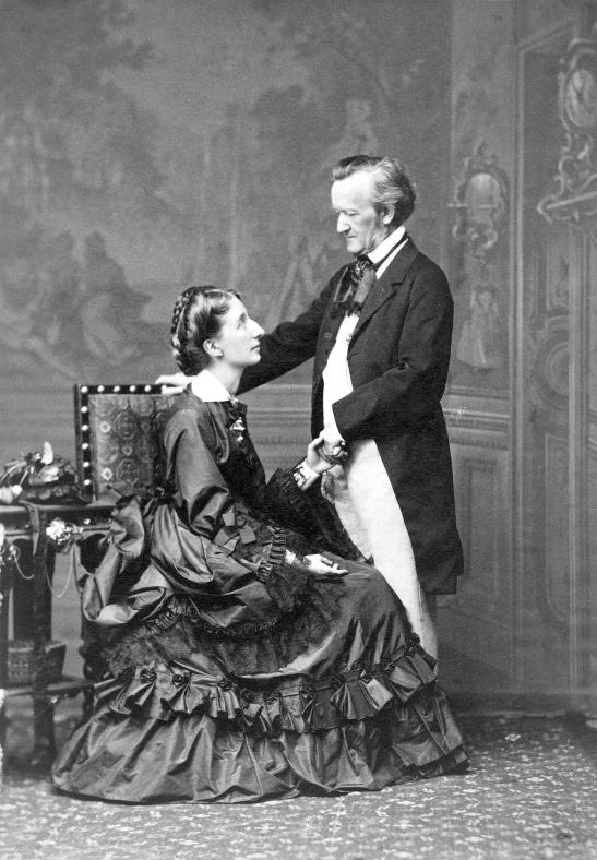 Richard și Cosima Wagner în 1872