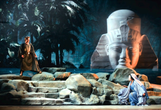 Înainte să se retragă: Roberto Alagna în Aida, la Scala, 2006, cu Violeta Urmana
