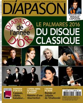 Diapason, No. 652 - Decembrie 2016