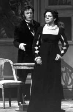 Leo Nucci (Oneghin) și Ileana Cotrubaș (Tatiana) - Metropolitan Opera, 1984