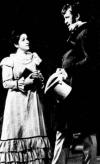Ileana Cotrubaș (Tatiana) și Victor Braun (Oneghin) în Actul 1