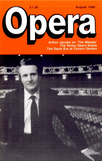 Opera, August 1986