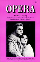 Opera, Aprilie 1965