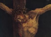 Crucificarea - Matthias Grünewald (1512, Isenheim)