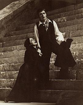 Franco Tagliavini (Turridu) și Marina Krilovici (Santuzza) - Cavalleria rusticana, Deustche Oper Berlin, 1972