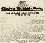 1218 - Clujenii preferă opera