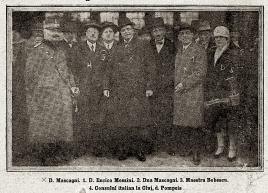 Pietro Mascagni la Cluj