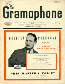 Gramophone - Octombrie 1946