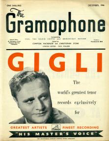 Gramophone - Decembrie 1946