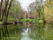 Castelul de vânătoare Ghika de la Dofteana - Heleșteul