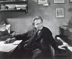 George Enescu în 1954