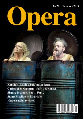 Opera Magazine - Ianuarie 2019