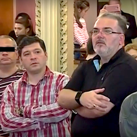 """Cătălin Ionescu Arbore la """"protestul spontan"""" din 2016 de la Operă"""