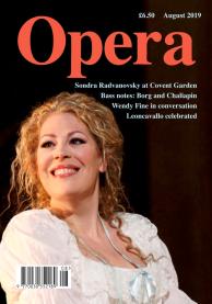Opera Magazine - August 2019