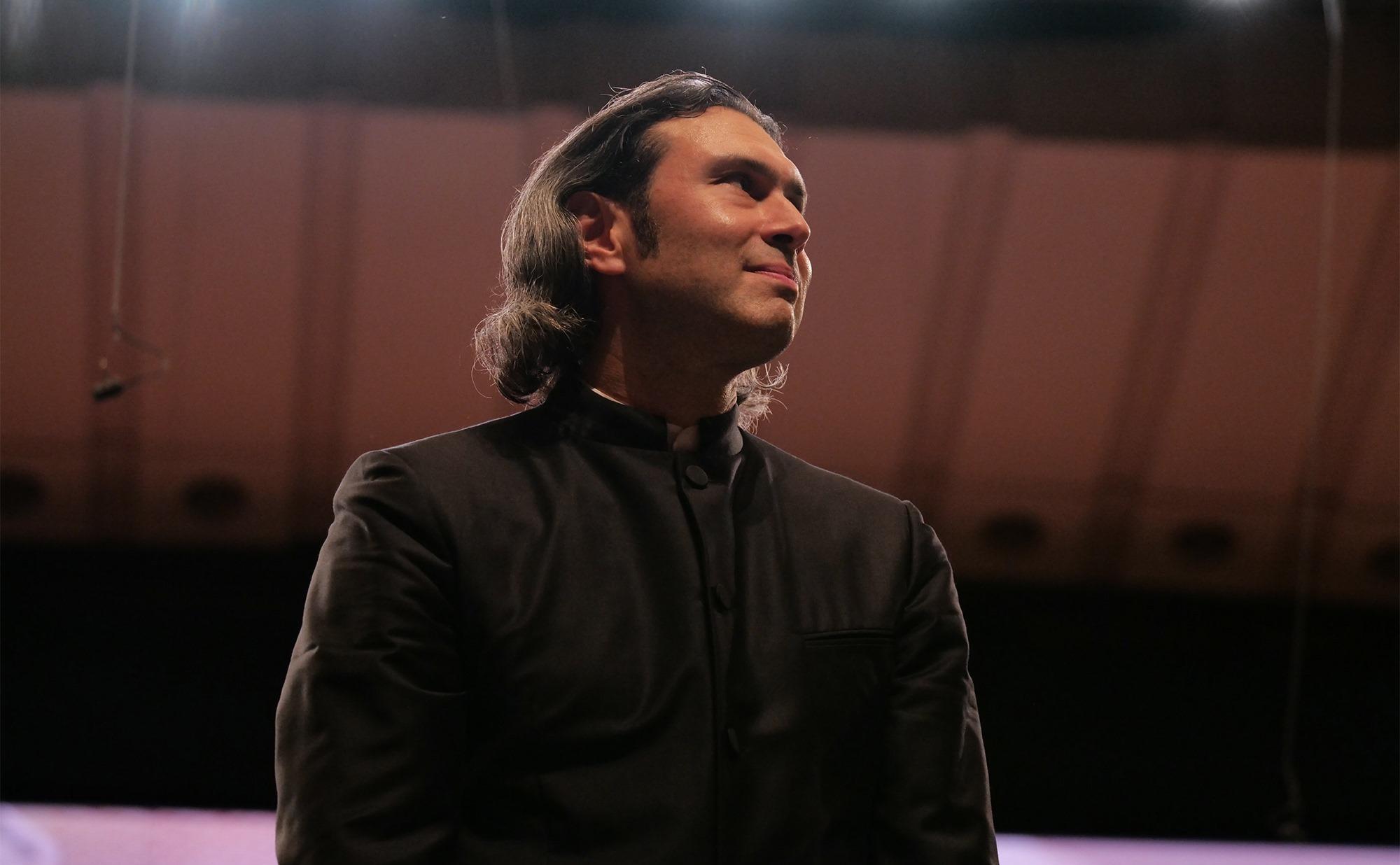 Vladimir Jurowski la finalul unui concert de la Enescu 2019