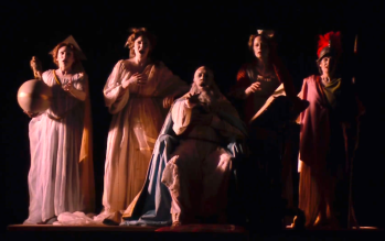 Proiecție video - Tosca@ Teatro alla Scala, Actul II