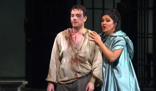 Anna Netrebko și Franceso Meli - Tosca@Teatro alla Scala, Actul III