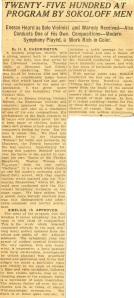 Enescu in America 1926 - 2