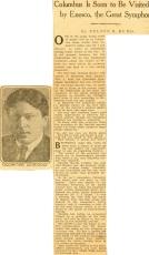 Enescu in America 1926 - 3